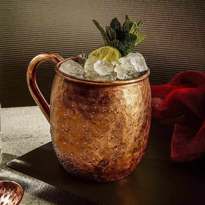 Moscow Mule, a History of the Classic Drink Served in A Copper Mug